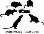 Logo Animals Rats And Cheese...