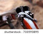 Hunting Double Barrel Vintage...
