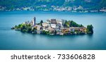 The Island Of San Giulio By Th...