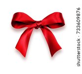 Small photo of red bow
