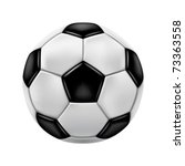 soccer ball   Shutterstock .eps vector #73363558
