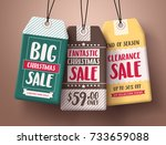 big christmas sale vector paper ...