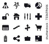 16 vector icon set   share  24...