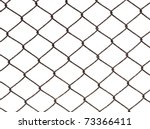 metal wire fence protection... | Shutterstock . vector #73366411