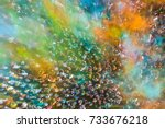 crowd of people at the holi... | Shutterstock . vector #733676218