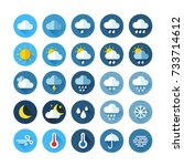 weather icons for print  web or ...