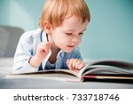 Young Boy With Book.
