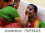 hyderabad india   october 12 ... | Shutterstock . vector #733753315