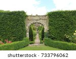 english garden | Shutterstock . vector #733796062