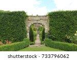 english garden | Shutterstock . vector #733796062