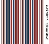 fabric retro usa color fashion... | Shutterstock .eps vector #733825345