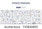 doodle vector illustration of a ...   Shutterstock .eps vector #733830805