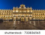long exposure photography of... | Shutterstock . vector #733836565