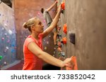 fitness  extreme sport ... | Shutterstock . vector #733852042