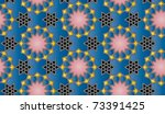 seamless arabic background with ... | Shutterstock .eps vector #73391425