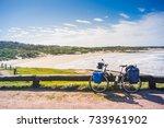 october 11  2017  bicycle... | Shutterstock . vector #733961902