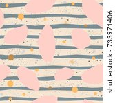 Cute Pattern With Pink Gemston...