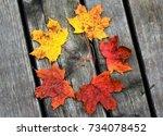 Small photo of autumn arrangement