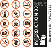 high quality black and white...   Shutterstock .eps vector #734173132