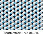 geometric | Shutterstock .eps vector #734188846