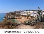 Praia De Carvoeiro Portugal  ...