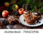 Baked Apple With Nuts  Cinnamo...