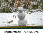 Angry  Sad Snowman For The...