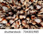 color abstract grunge... | Shutterstock . vector #734301985