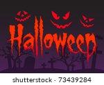 halloween   Shutterstock .eps vector #73439284