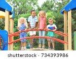 Cute Children Playground - Fine Art prints