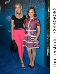 """Small photo of LOS ANGELES, CA - August 07, 2017: Alicia Malone & Guest at the launch party for Apple Music's """"Carpool Karaoke: The Series"""" at Chateau Marmont"""