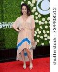 Small photo of LOS ANGELES, CA - August 01, 2017: Gabrielle Ruiz at CBS TV's Summer Soiree at CBS TV Studios
