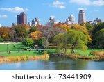 new york city manhattan central ... | Shutterstock . vector #73441909
