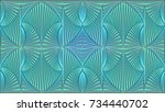 abstract background in... | Shutterstock . vector #734440702