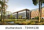 buildings made in 3d | Shutterstock . vector #73444138