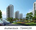 3d building   Shutterstock . vector #73444159