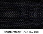 abstract dark background for... | Shutterstock . vector #734467108