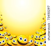 crazy background with heap of... | Shutterstock .eps vector #73450297