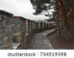 samuel's fortress in ohrid....