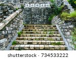 steps  translation of text in... | Shutterstock . vector #734533222
