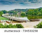 parks | Shutterstock . vector #734533258