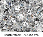 diamond closeup pattern and... | Shutterstock . vector #734555596