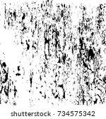 scratch grunge urban background.... | Shutterstock .eps vector #734575342