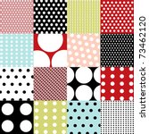 Seamless Patterns  Polka Dots...