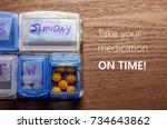 conceptual follow doctor's...   Shutterstock . vector #734643862