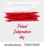 holiday background with...   Shutterstock .eps vector #734675335