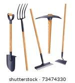 Gardening Groundworks Tools....