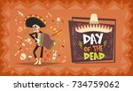 Day Of Dead Traditional Mexica...