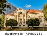 belgorod  russia   september 29 ...   Shutterstock . vector #734833156