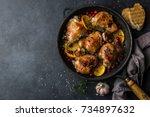 Roasted  Chicken With Orange ...